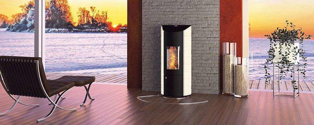 Пеллетный камин − это встраиваемый источник тепла для и украшение интерьера