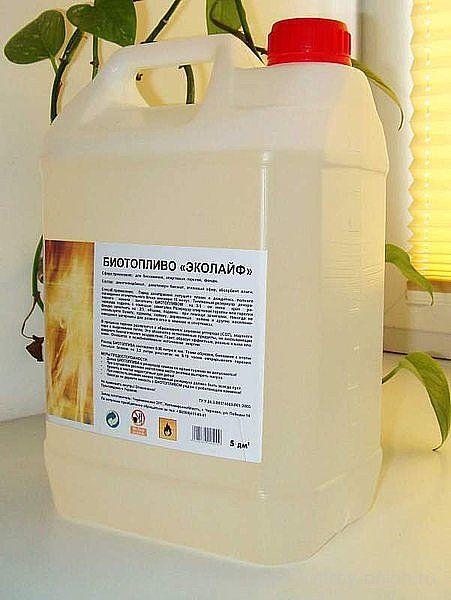 Биотопливо для биокаминов своими руками