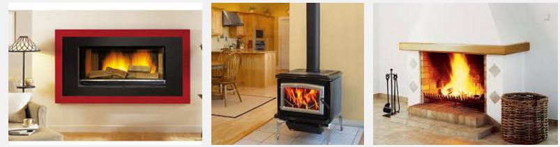 Электрокамин, дровяная печь и газовый камин
