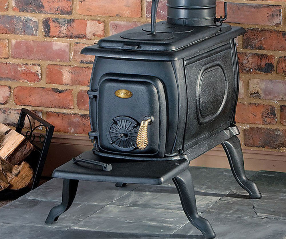 Печка на дровах для гаража своими руками