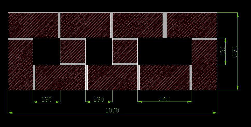 Схема кладки вентканалов