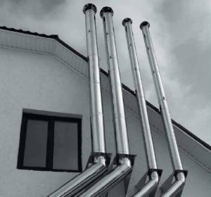 Дымоходы из нержавеющей стали