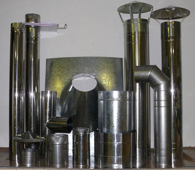 Дымоходы из металлической трубы