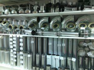 Дымоходы из различных видов стали и комплектующих к ним