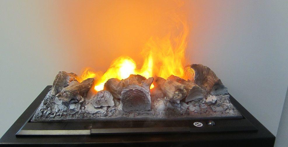 Эффект живого огня создается за счет 3D изображения