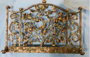 Кованная решетка для камина ручной работы