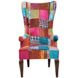 Кресло в стиле Пэчворк