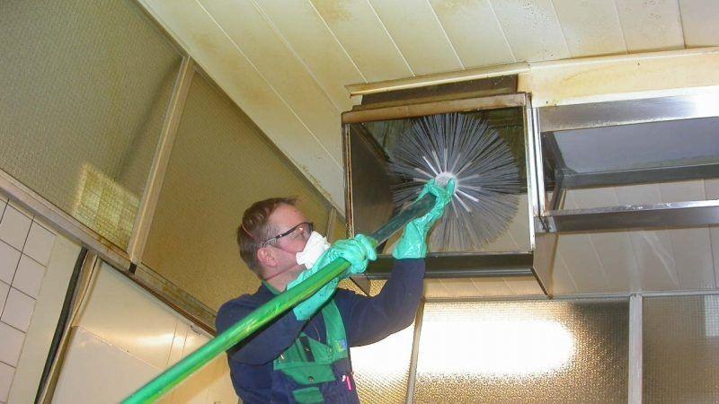 Механическая чистка вентканалов