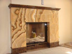 Мраморный камин