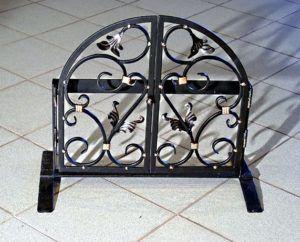 Образец каминной решетки