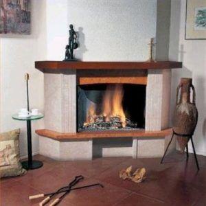 Печь-камин Амур в интерьере