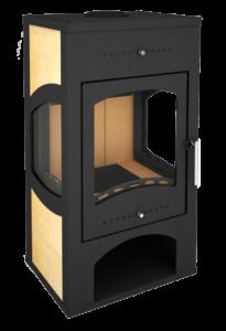 Печь-камин Варта 3D(Мета)