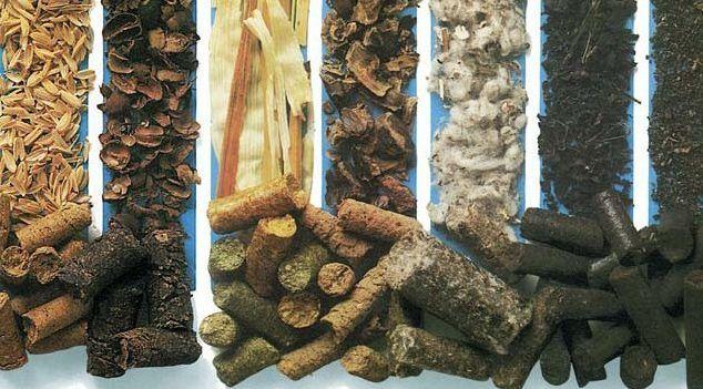 Разновидности брикетов