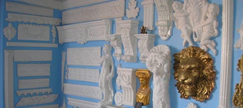 Варианты элементов декора из лепнины