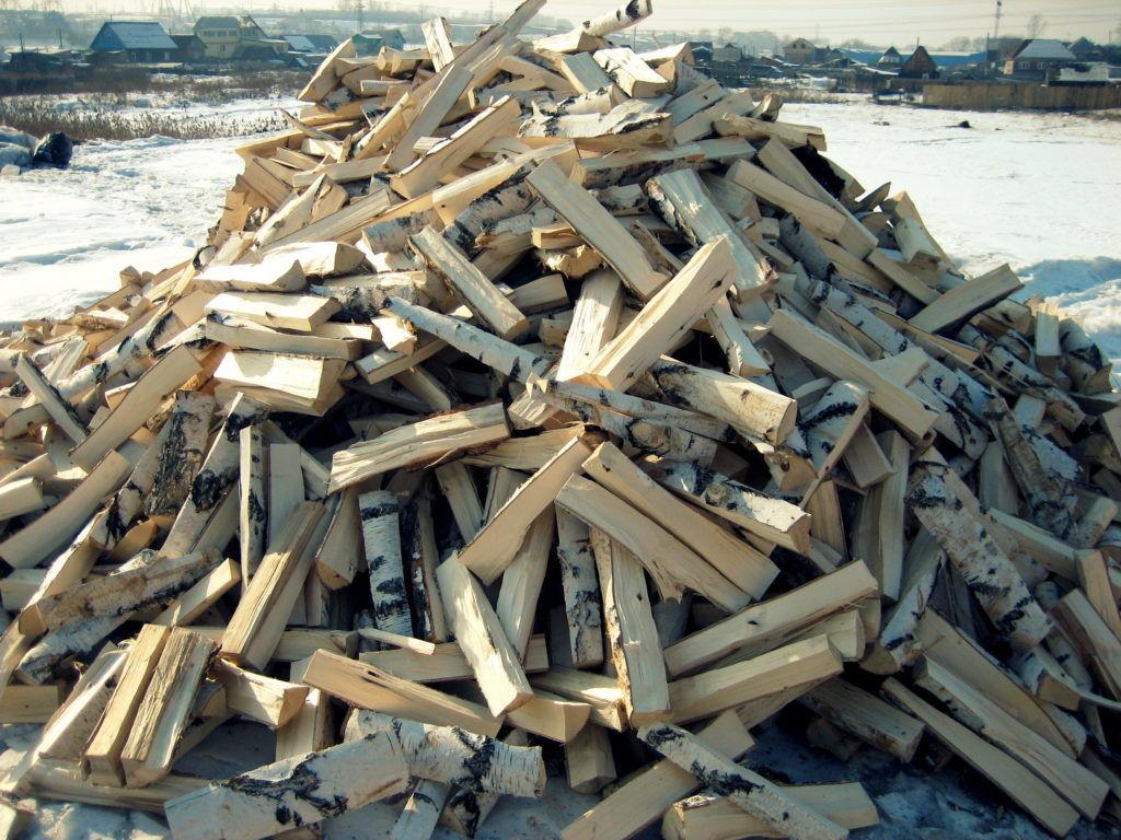 Качественные березовые дрова