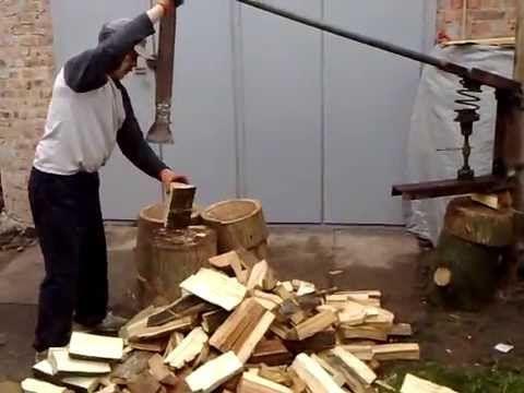 Колун для дров своими руками чертежи видео фото 115