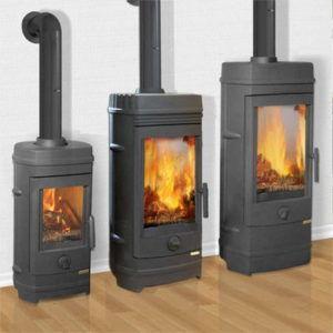 Чугунные печи - камины длительного горения для отопления дома