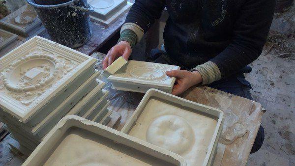 Изготовление изразцов для печей своими руками