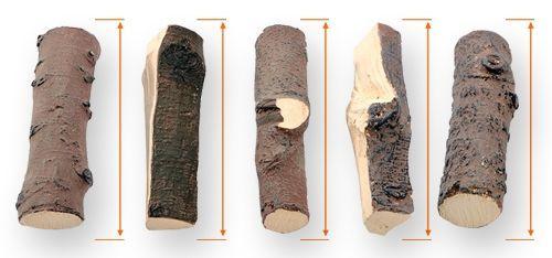 Дрова из керамики своими руками