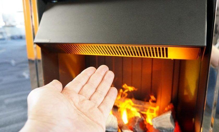 Конвекционный электрокамин с эффектом реального пламени