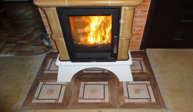 Защита на случай выпадания жара из камина