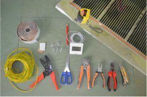 Инструменты для монтажа теплых полов