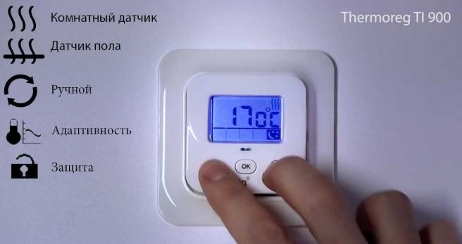Электронный терморегулятор Thermoreg TI 900