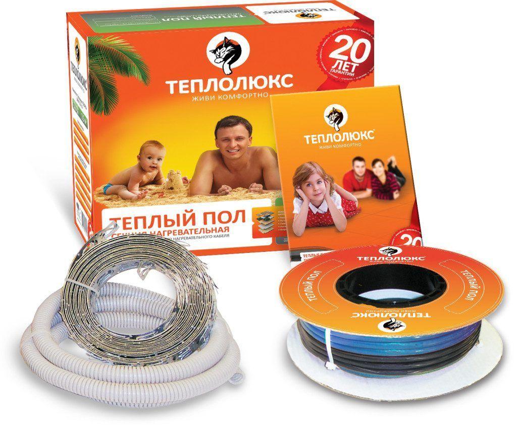 Нагревательные кабели Теплолюкс