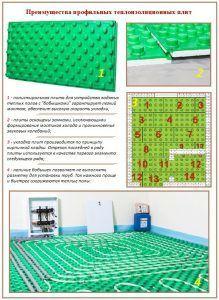 Преимущества профильных теплоизоляционных плит