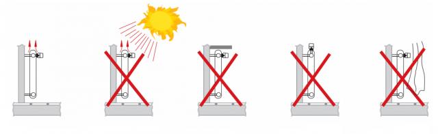 Рекомендация правильной установки датчика для теплого пола