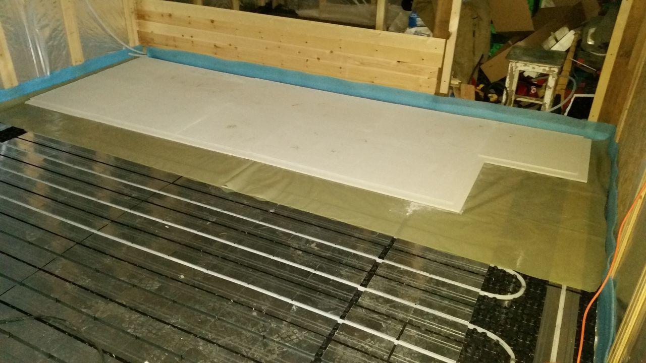 Теплораспределительные пластины для водяного теплого пола
