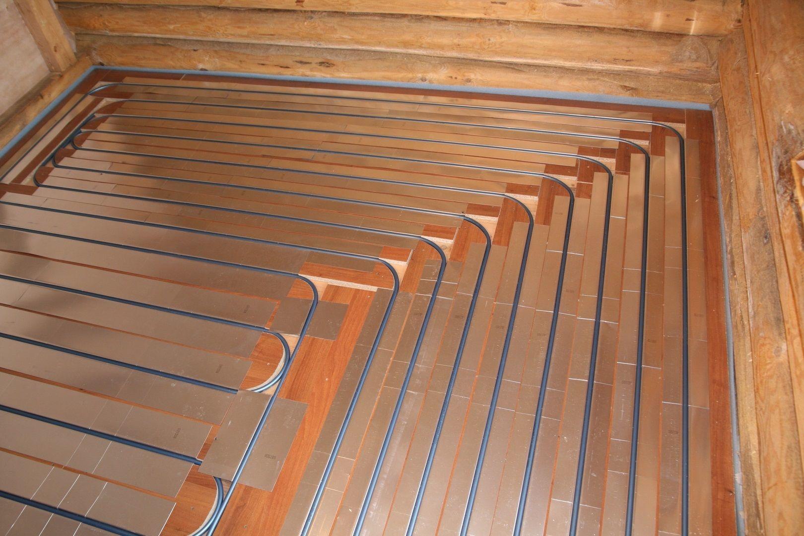Как сделать теплый пол на деревянном полу  238