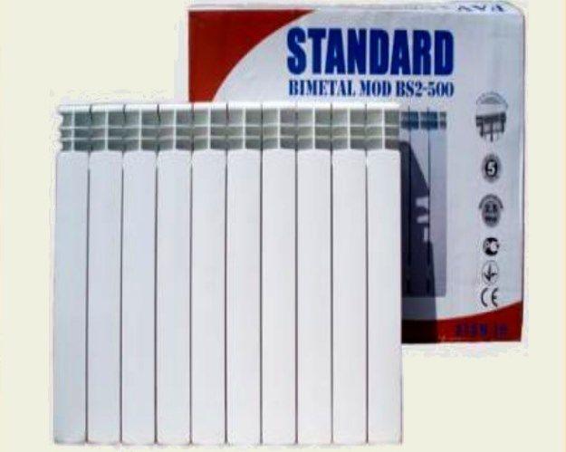 Биметаллический радиатор STANDARD