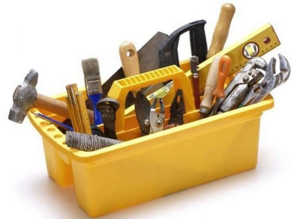 Инструменты для постройки тандыра