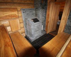 Печь для бани с закрытой каменкой