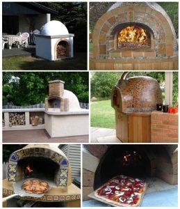 Примеры оформления помпейской печи