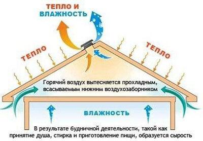 Элементы кровельной вентиляции