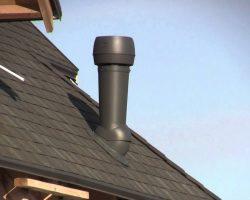 вентиляция на крышу дома