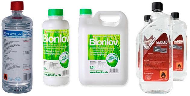 Биотопливо для биокаминов