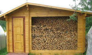 дрова для бани