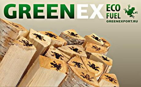 Дрова для камина Greenex