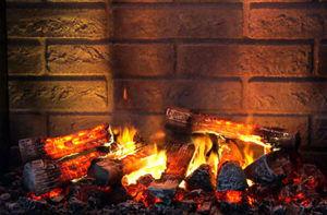 Электрокамин с эффектом живого огня