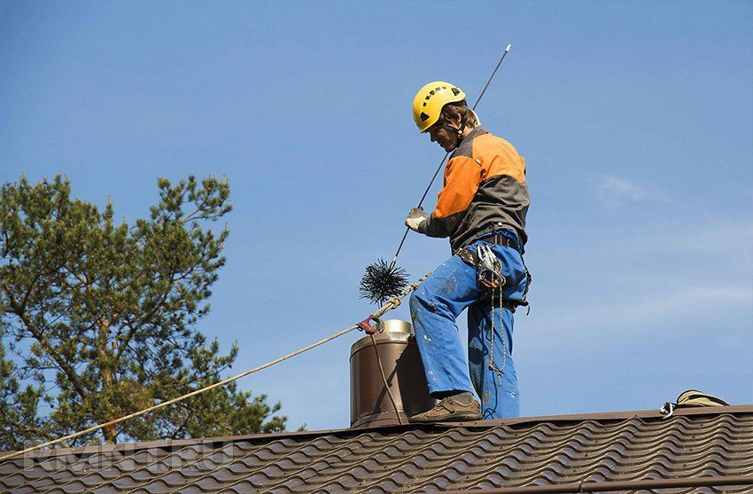 Причины загрязнения дымоходов и способы изготовления ершиков для их чистки