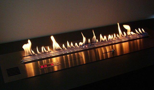 Биокамин огненная линия