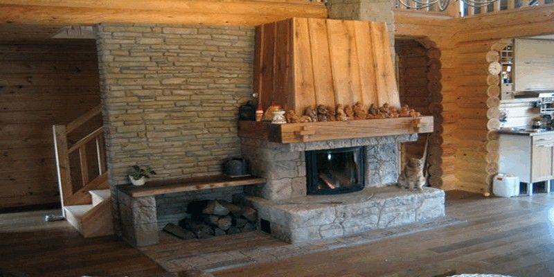 Камин для уютной дачи