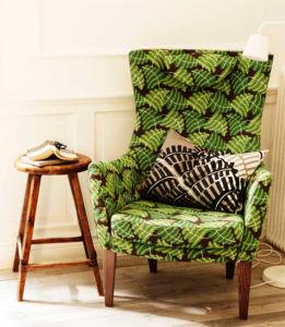 Стокгольм - кресло с высокой спинкой