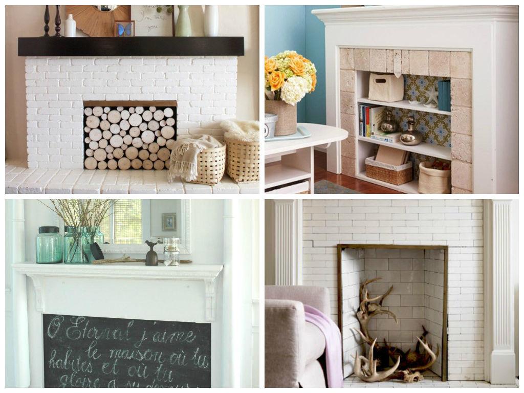 Способы украсить дом с помощью декоративного камина