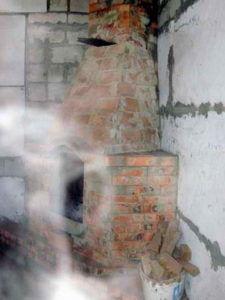 Эффект обратной тяги в дымоходе