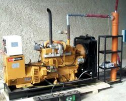 электрогенератора на дровах