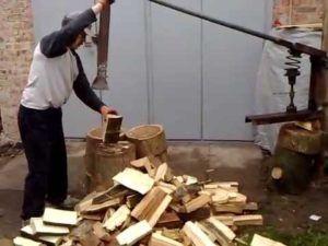 колуны для дров своими руками